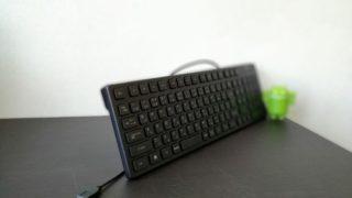 バッファローの「bskbu15bk」レビュー!!静かで使い勝手の良い格安キーボード!