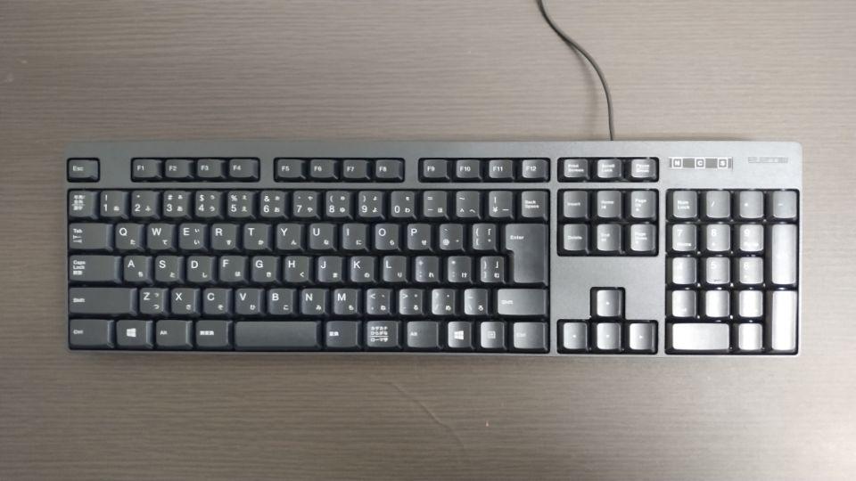 キーボードの用途別のおすすめ「tk-ffcm01bk」