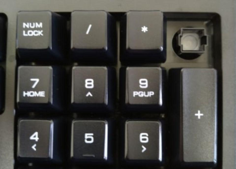 エレコム tk-fdm088tbkのキーキャップ