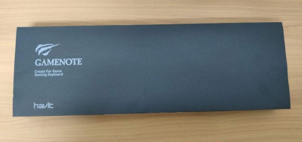 Havit メカニカルキーボード「HV KB395L JP」の外箱