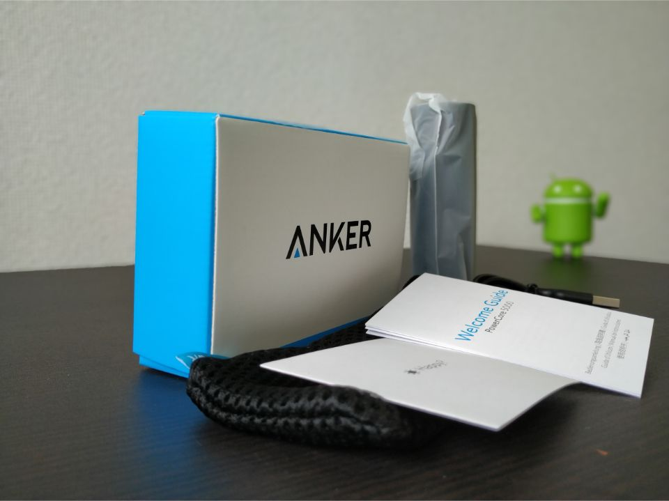 Anker「PowerCore 5000」の内箱