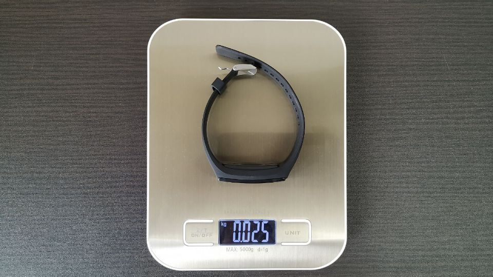 Hihiccup スマートウォッチ「V18」 公式よりも1g軽い「重量」