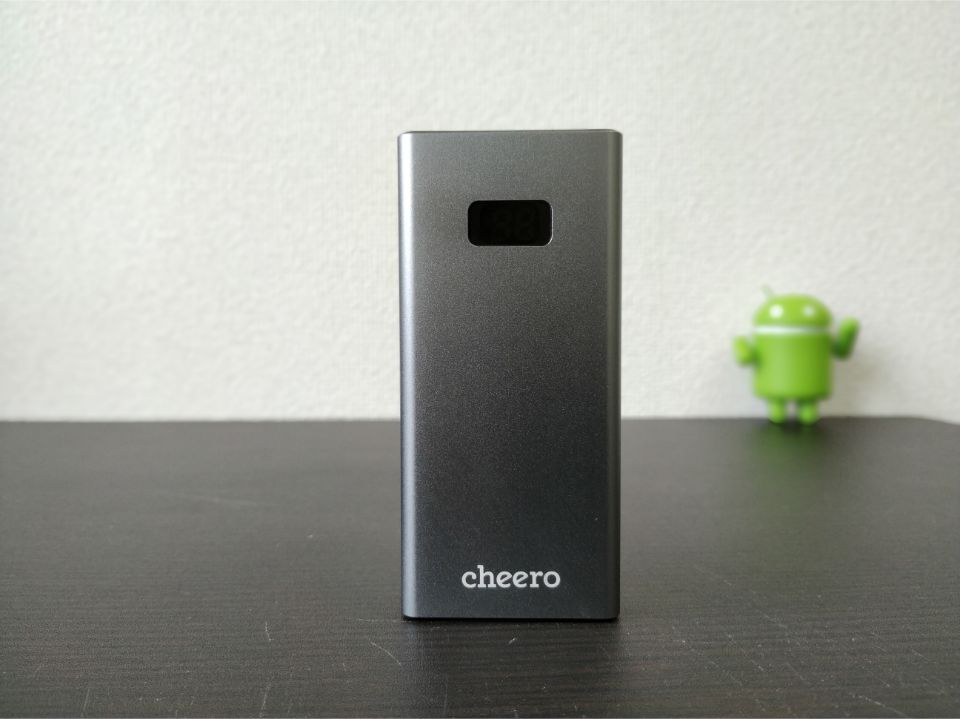 cheero「Power Plus 5」の「本体」