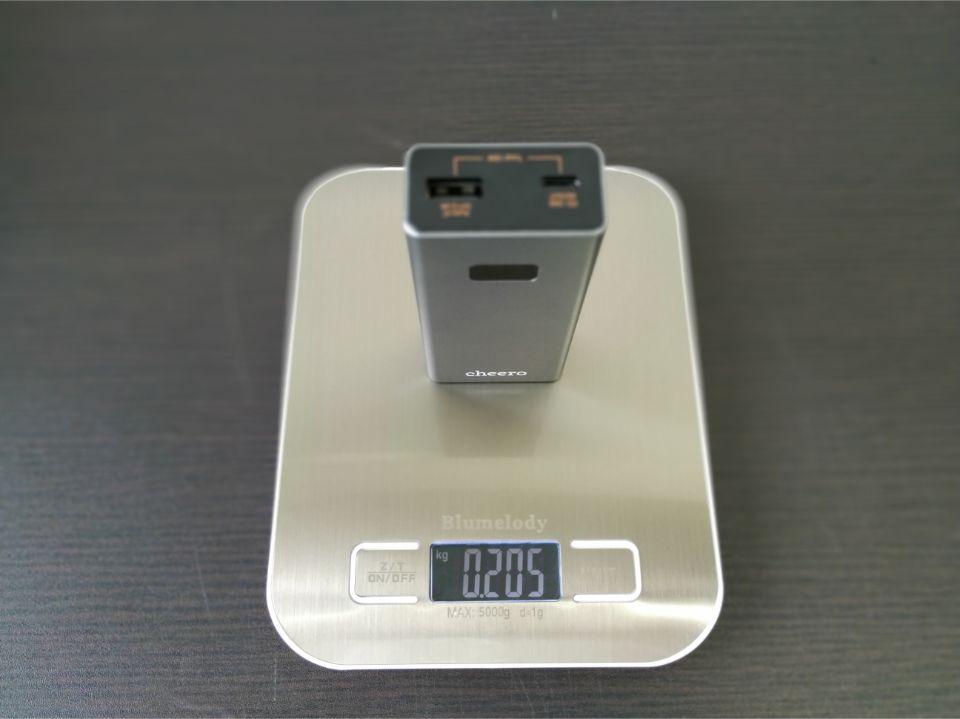 Power Plus 5品質の高さが伺える「重量」