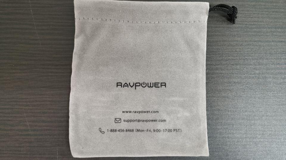 RAVPower「RP-PB125」の「ポーチ」