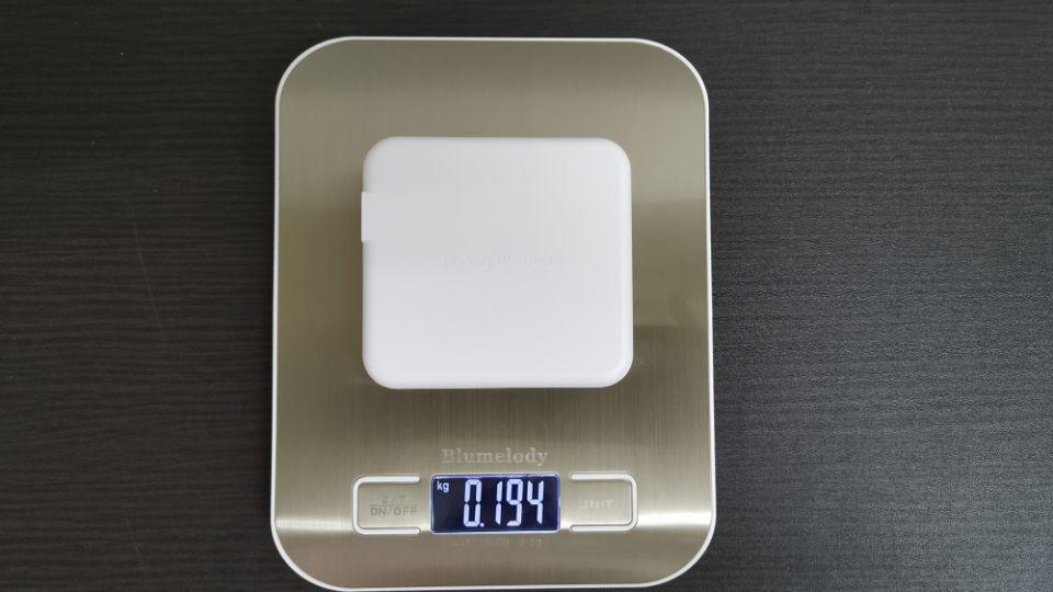 RAVPower「RP-PB125」の重量