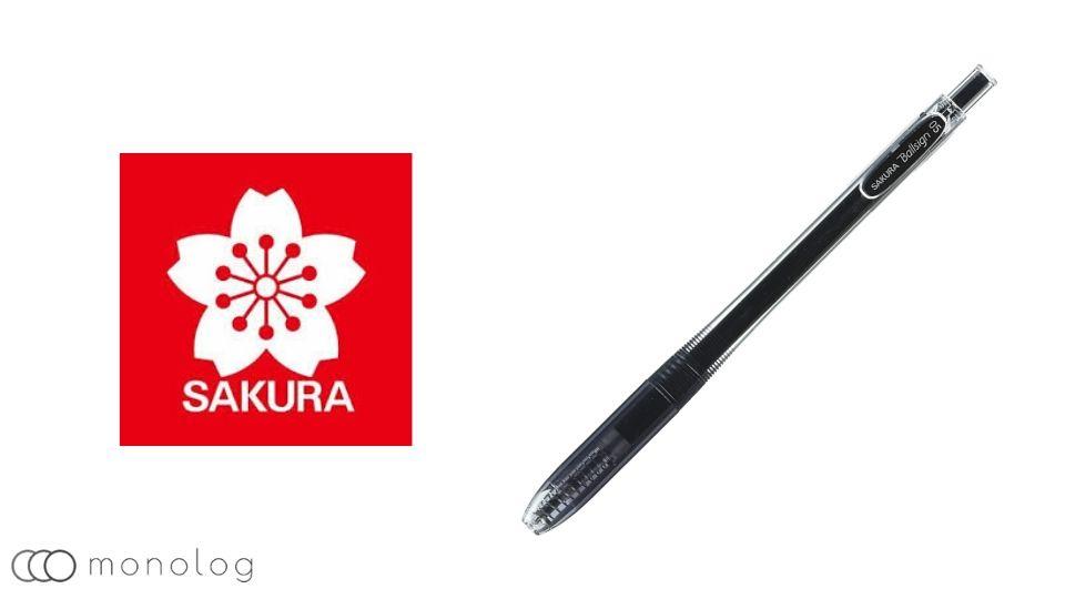ボールペンメーカーの特徴「サクラクレパス」