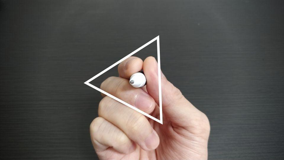 ボールペンの持ち方や握り方のポイント 三角の形を作ろう