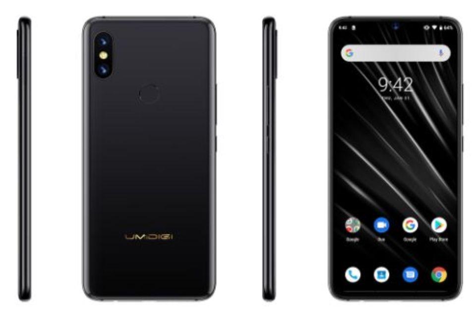 「UMIDIGI S3 Pro」のデザイン