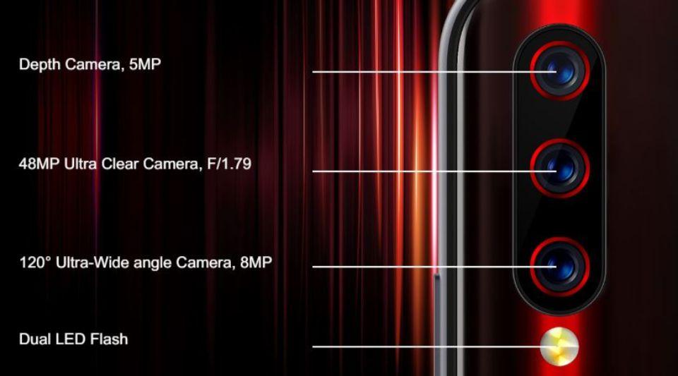 「UMIDIGI X」のカメラ性能