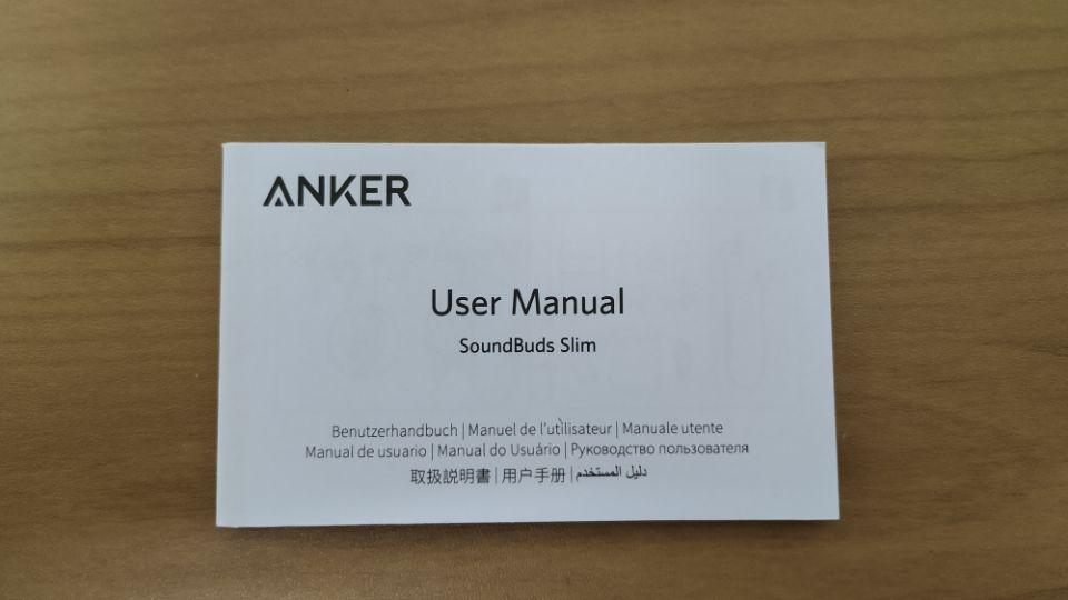 Anker「SoundBuds Slim」改善版のスペック