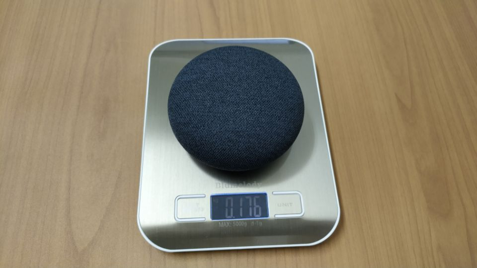 「Google Nest mini」の重量