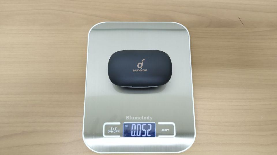 Anker「Soundcore Life P2」充電ケースの重量