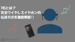 TWSとは?完全ワイヤレスイヤホンの伝送方式を徹底解説!!