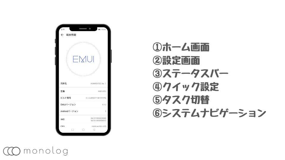 HUAWEI「EMUI」のデザインとUI/UX