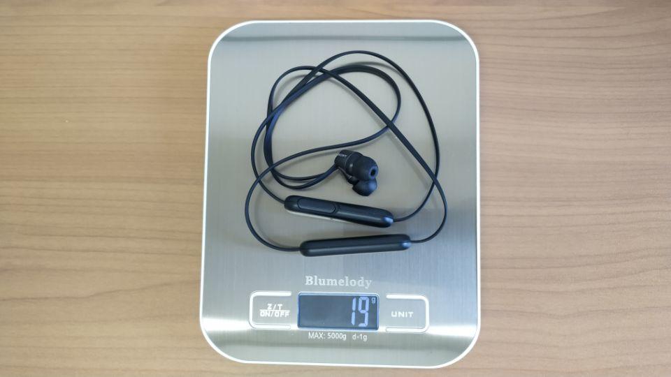 SONY「WI-C310」の「重量」