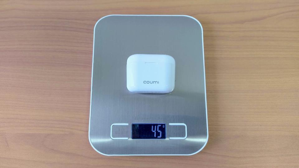 COUMI「Ear Soul TWS-817A」のケース重量