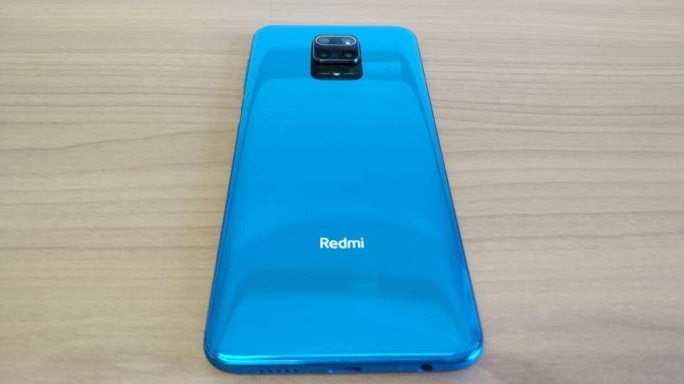 Xiaomi「Redmi Note 9S」の「背面」