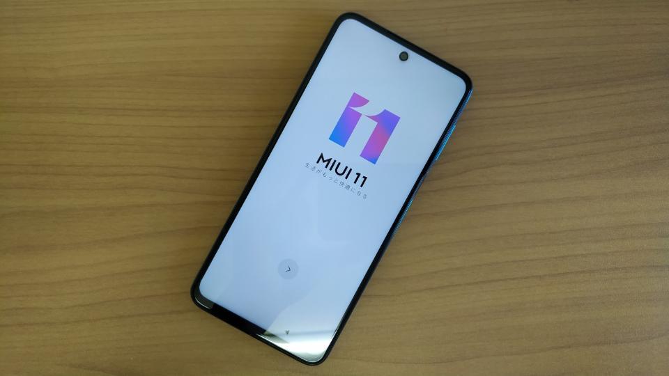 Xiaomi「Redmi Note 9S」の「本体」