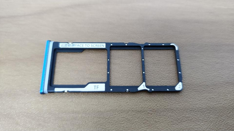 Xiaomi「Redmi Note 9S」の「SIMスロット」