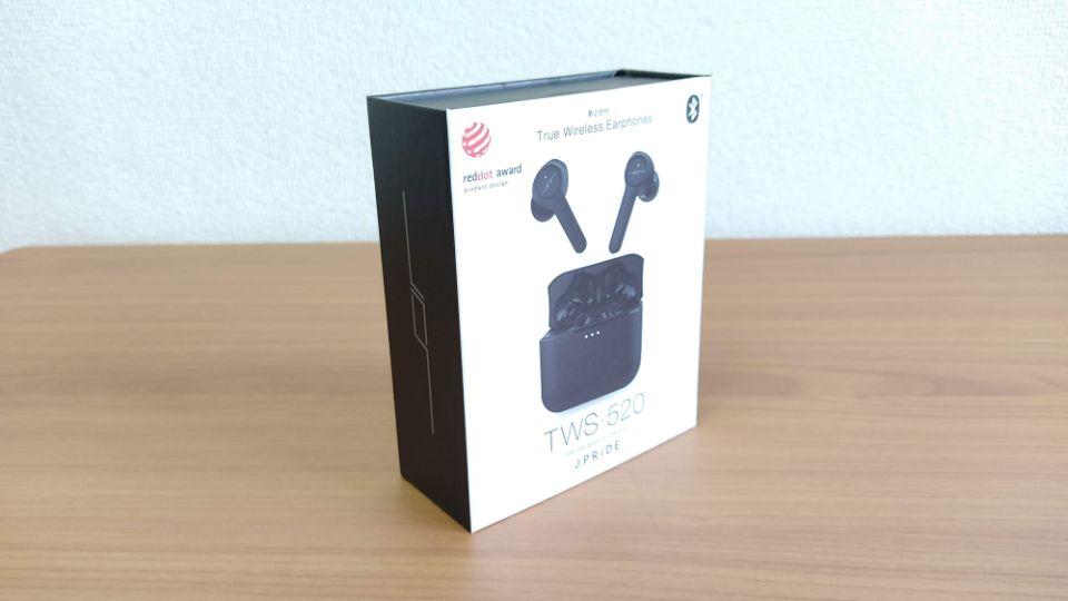 JPRiDE「TWS-520」の「外箱」