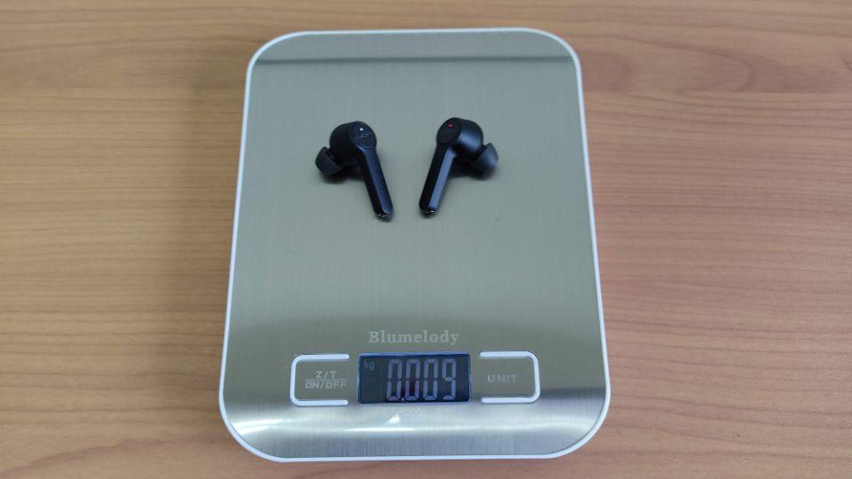 JPRiDE「TWS-520」の本体重量