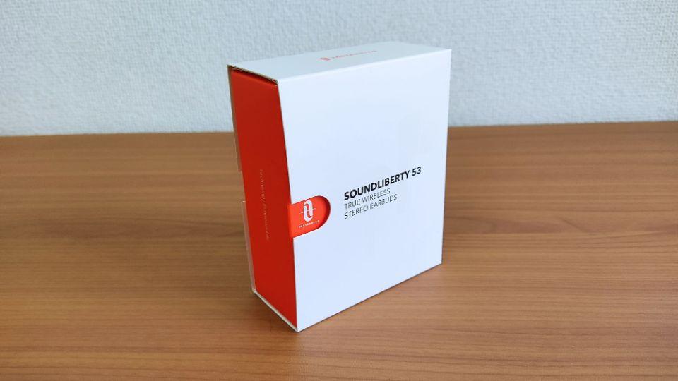 TaoTronics「SoundLiberty 53」の「外箱」