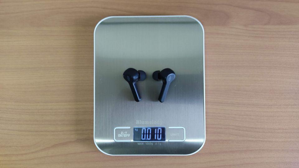 TaoTronics「SoundLiberty 53」の本体重量