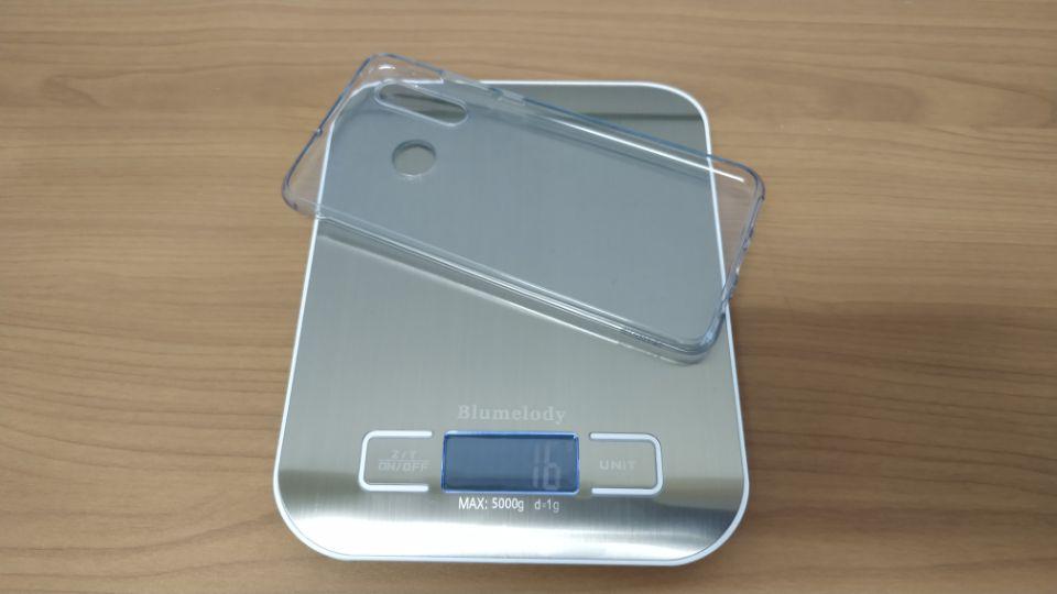 「HUAWEI P30 Lite」のサイズの割に軽量な「重量」2