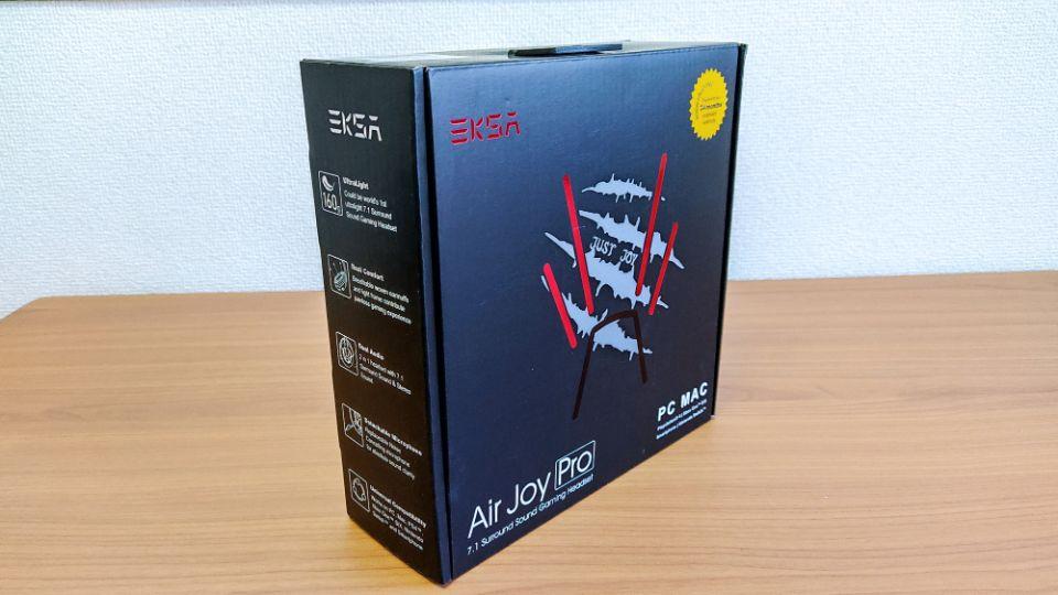 「Eksa AirJoy Pro」の外箱