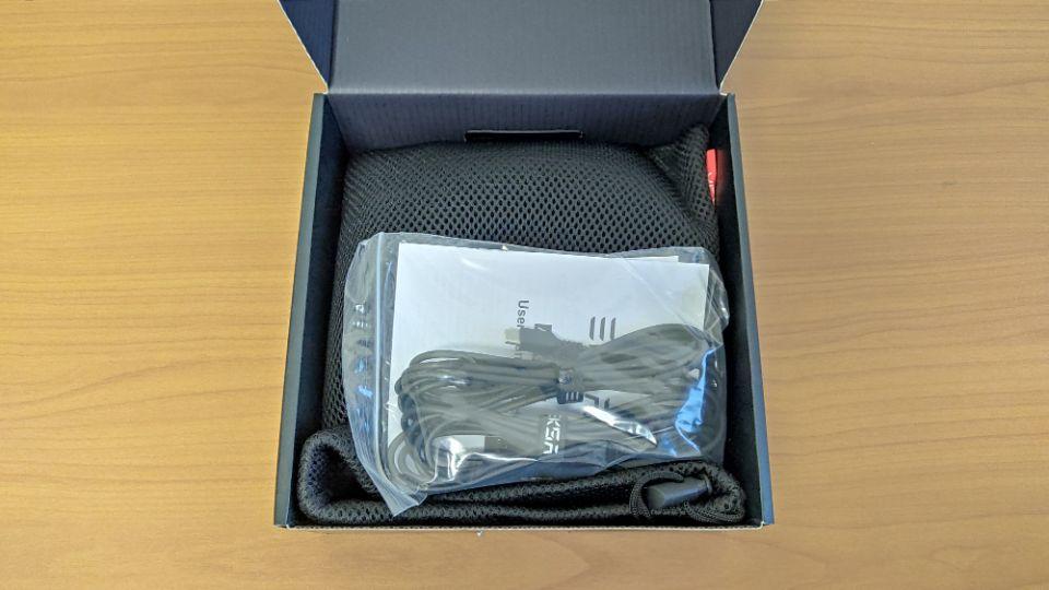 「Eksa AirJoy Pro」の内箱