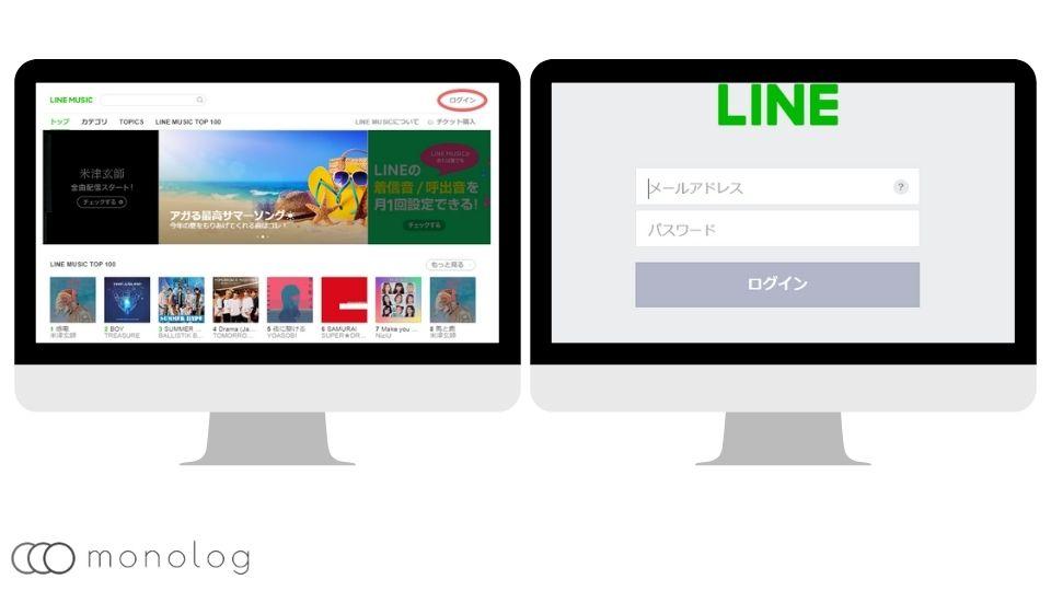 「LINE MUSIC」の使い方マルチデバイス
