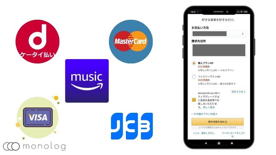「amazon music」の解約方法