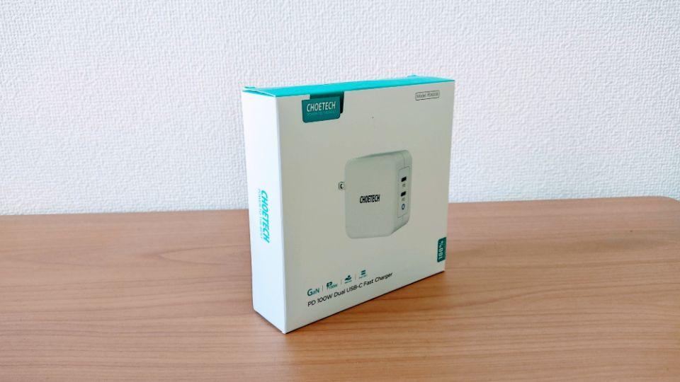 CHOETECH「PD6008」の外箱