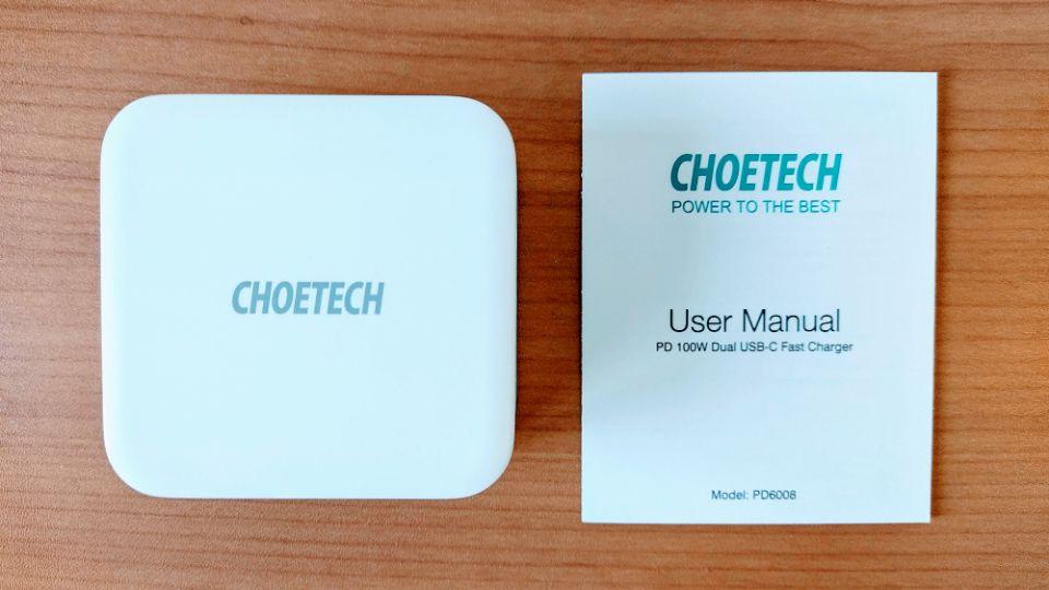 CHOETECH「PD6008」のスペック
