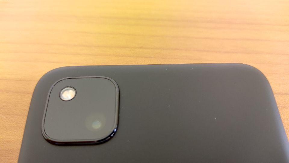 「Google Pixel 4a」のメインカメラ