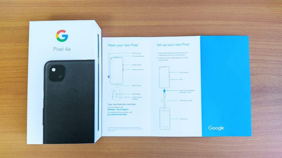 「Google Pixel 4a」のスペック