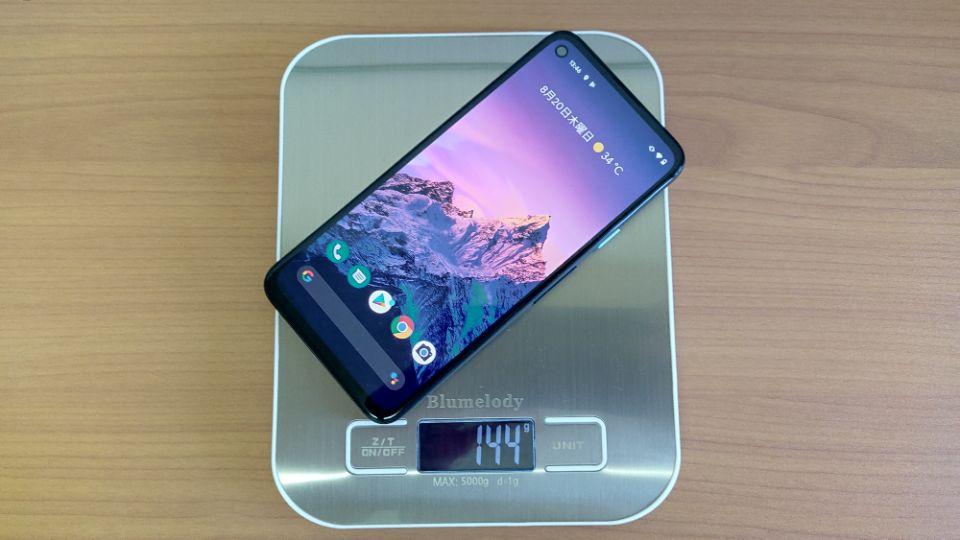 「Google Pixel 4a」の重量