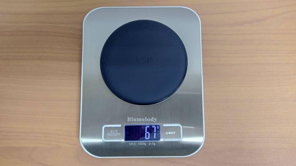 Anker「PowerWave 10 Pad」改善版の重量