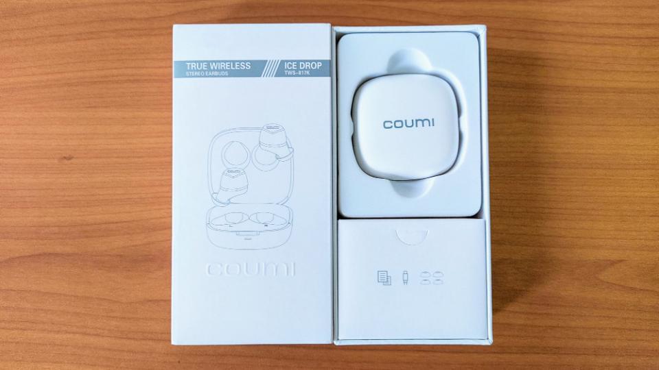 COUMI「Ice dropTWS-817K」の内箱