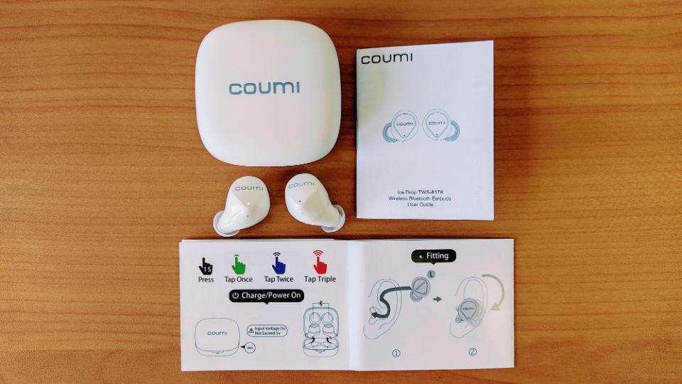 COUMI「Ice dropTWS-817K」のスペック