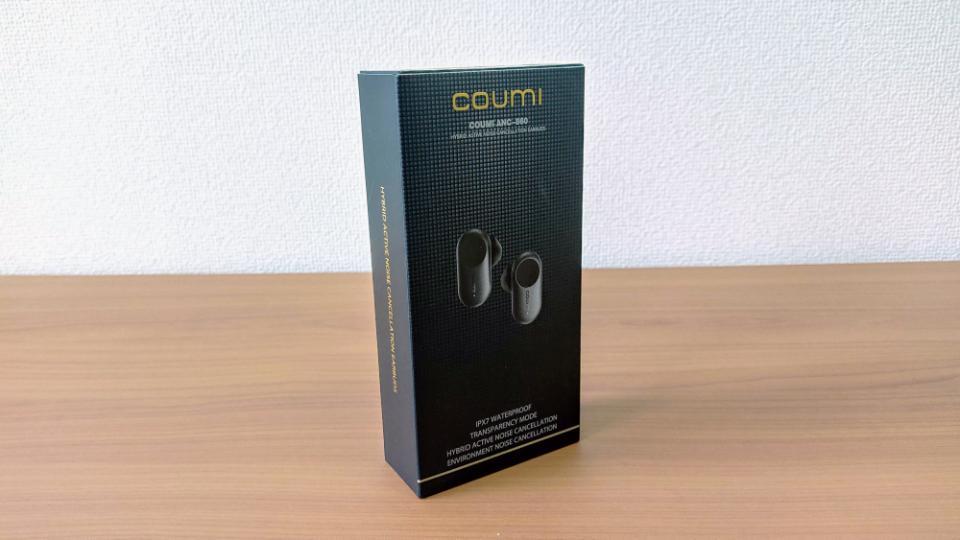 COUMI「TWS ANC860」の外箱