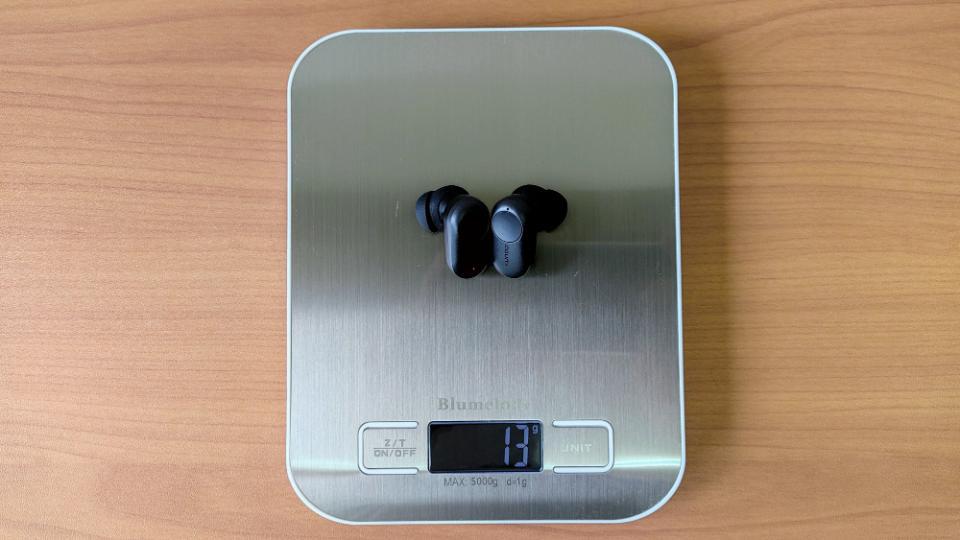 COUMI「TWS ANC860」の本体重量
