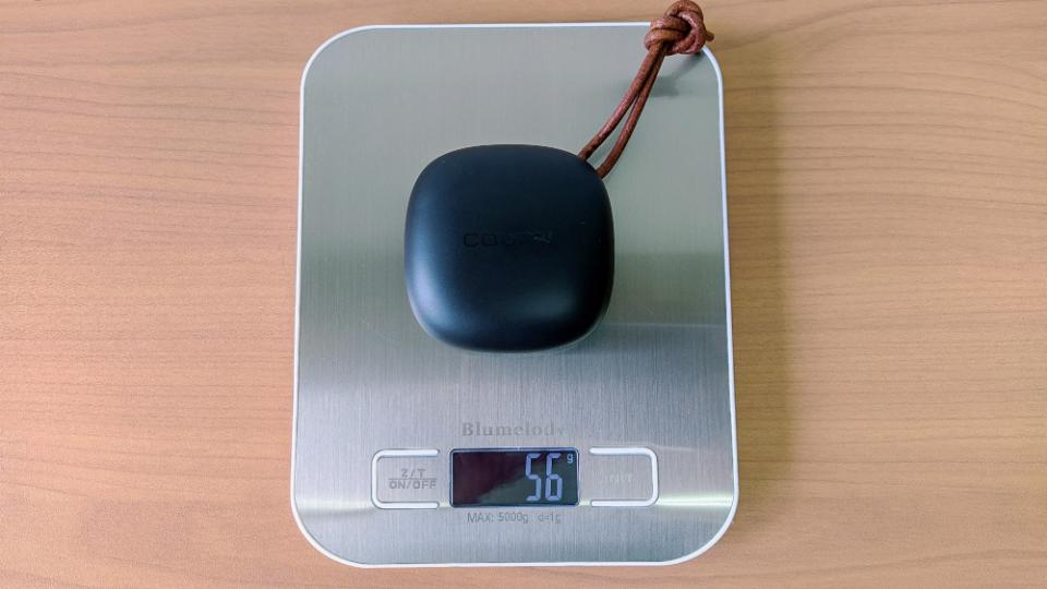 COUMI「TWS ANC860」のケース重量