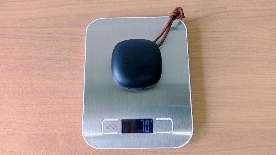 COUMI「TWS ANC860」の本体+ケース重量
