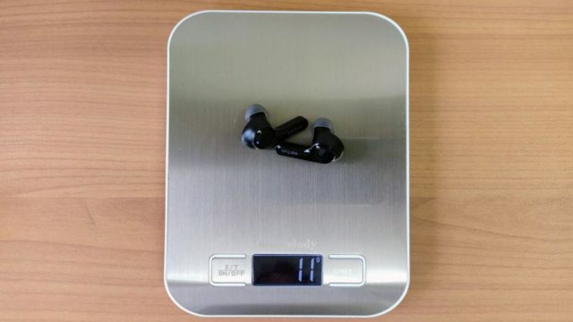 「EarFun Air」のイヤホン重量
