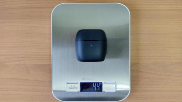 「EarFun Air」のケース重量