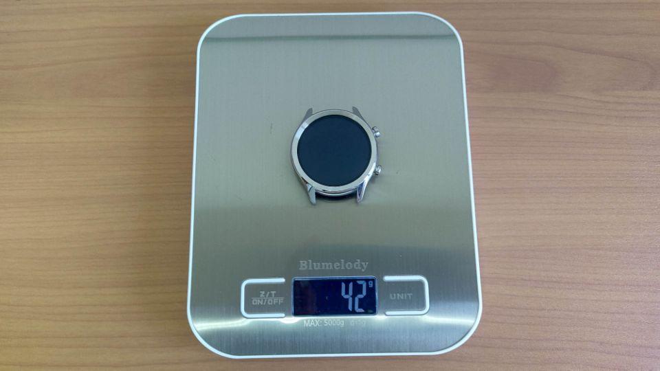 mobvoi「TicWatch C2 」の本体重量
