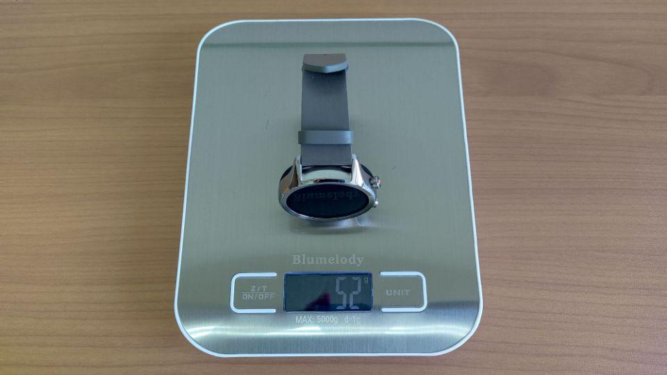 mobvoi「TicWatch C2 」の本体とベルトの重量