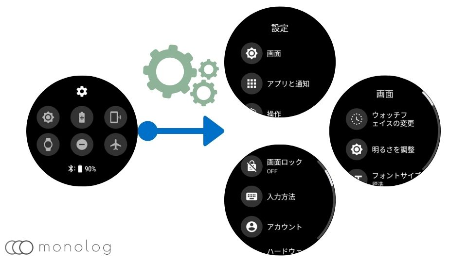 「Wear OS by Google」の